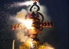 यहाँ दशहरे से 6 महीने पहले ही रावण के पुतले की नाक काट के कर देते हैं उसका अंत