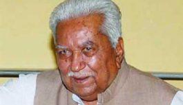 प्रधानमंत्री नरेन्द्र मोदी के गुरु कहे जाने वाले और गुजरात के दो बार के मुख्यमंत्री केशुभाई पटेल नहीं रहे