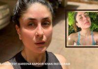 करीना कपूर वापस दिल्ली से मुंबई  जा रही हैं, नो मेकअप के साथ पाउट सेल्फी शेयर कर दी जानकारी