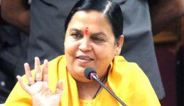 उमा भारती ने खुद को मां काली और भाजपा प्रत्याशी प्रभुराम चौधरी को भैरवनाथ बताया