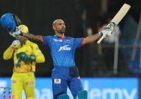 शिखर धवन के आईपीएल करियर की 167वीं पारी में आया शतक