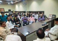पूर्व गृहमंत्री के नेतृत्व में भाजपा के 57 युवा कार्यकर्ता कांग्रेस में शामिल,