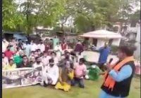 भाजपा नेता ने सिंधिया समर्थक को बताया चोर!