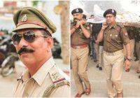 बुलंदशहर हिंसा: इंस्पेक्टर सुबोध कुमार सिंह के हत्यारे की मूर्ति लगाई गई