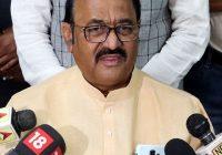 सत्ता के लिए भाजपा ने की संविधान की हत्या – पूर्व विधानसभा अध्यक्ष प्रजापति